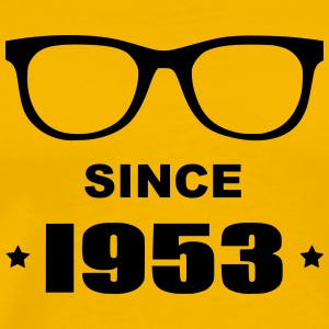 Geek since 1953 - Premium-T-shirt herr