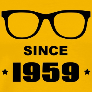 Geek since 1959 - T-shirt Premium Homme