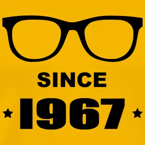 Geek since 1967 - Premium-T-shirt herr