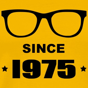 Geek since 1975 - T-shirt Premium Homme