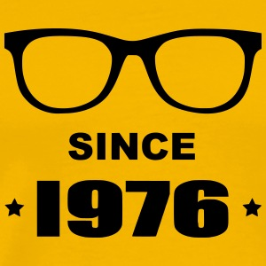 Geek since 1976 - Premium T-skjorte for menn