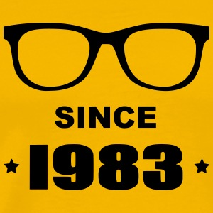 Geek since 1983 - Premium-T-shirt herr