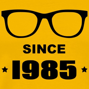Geek since 1985 - Herre premium T-shirt