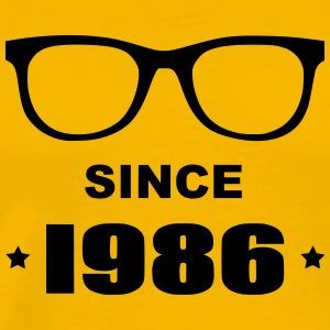 Geek since 1986 - T-shirt Premium Homme