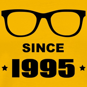 Geek since 1995 - Premium-T-shirt herr