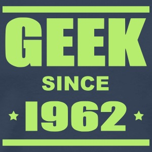 Geek since 1962 - Mannen Premium T-shirt