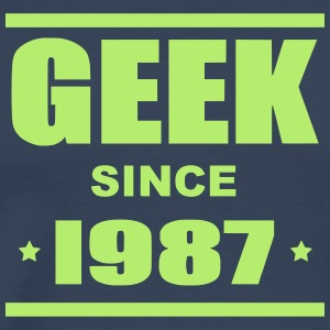 Geek since 1987 - Men's Premium T-Shirt