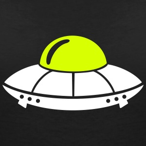 UFO T-Shirts - Women's V-Neck T-Shirt