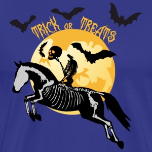 Trick or Treats - Halloween Pferd T-Shirts - Männer Premium T-Shirt