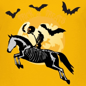 Trick or Treats - Halloween Pferd T-Shirts - Kinder Premium T-Shirt