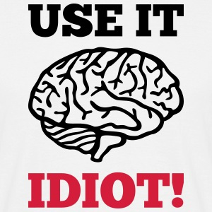 Idiot Brain T-Shirts - Men's T-Shirt