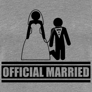 Official Married Gefangen kurze Leine lustig T-Shirts - Frauen Premium T-Shirt