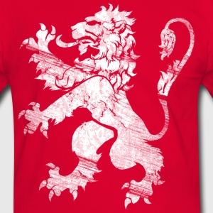 White Lion Rampant T-Shirts - Men's Ringer Shirt