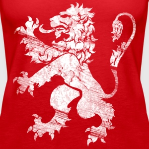 White Lion Rampant Tops - Women's Premium Tank Top