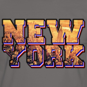 new york Tee shirts - T-shirt contraste Homme