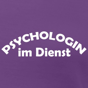 psychologin im dienst T-Shirts - Frauen Premium T-Shirt