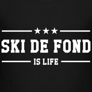 Ski de fond is life Shirts - Kids' Premium T-Shirt