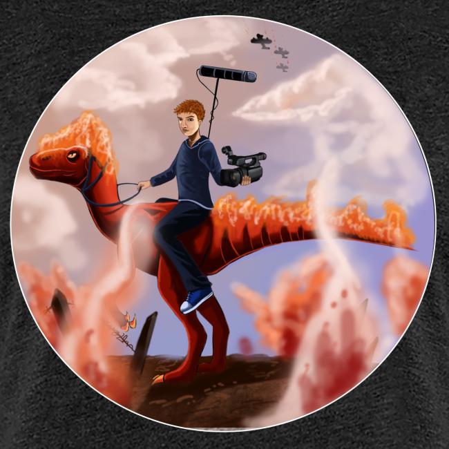 Flammende Dino [Piger]