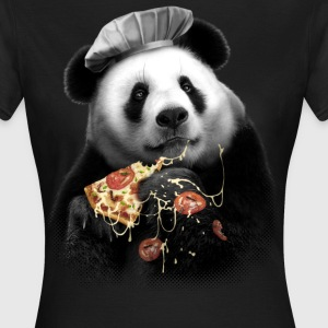 PANDA LOVES PIZZA -  BASIC WOMAN - Women's T-Shirt