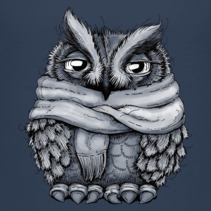 Freezing Owl Shirts - Kids' Premium T-Shirt