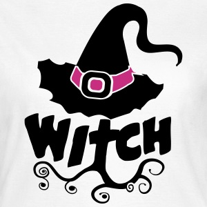 Kombi Shirt, Best Witch, Hexe, Halloween, Freundin - Frauen T-Shirt