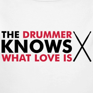 The Drummer knows what love is Sweats - Body manches longues Bébé