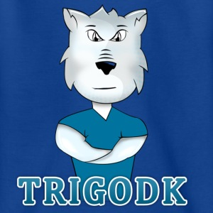 TrigoDK Tshirt - /12-14år/ - Teenager-T-shirt