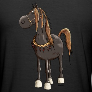 Cheval Arabe Mignon - Chevaux Tee shirts - Tee shirt près du corps Homme