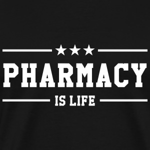 Pharmacy is life T-skjorter - Premium T-skjorte for menn