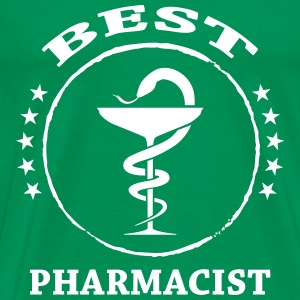 Best Pharmacist T-shirts - Mannen Premium T-shirt