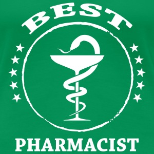 Best Pharmacist T-skjorter - Premium T-skjorte for kvinner