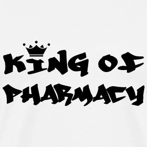 King of Pharmacy T-shirts - Herre premium T-shirt