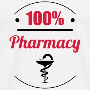 100% Pharmacy T-skjorter - Premium T-skjorte for menn