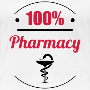 100% Pharmacy T-shirts - Dame premium T-shirt
