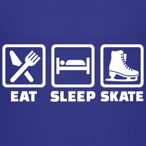 Eat sleep skate T-Shirts - Kinder Premium T-Shirt