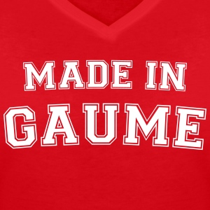 Made in Gaume Tee shirts - T-shirt col V Femme