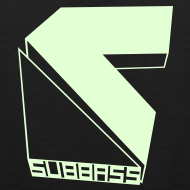 Motiv ~ SUBBASS T-Shirt ohne Ärmel Glow in Dark!