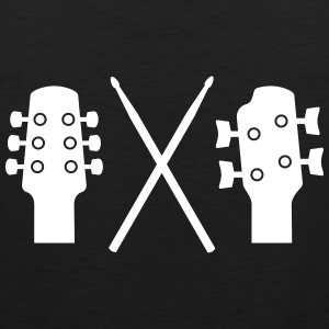 Guitar, Bass and Drums Tank Tops - Men's Premium Tank Top
