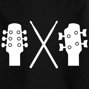Guitar, Bass and Drums T-Shirts - Kinder T-Shirt