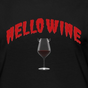 Hello Wine - A Halloween Treat - Women's Premium Longsleeve Shirt