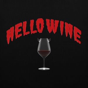 Hello Wine - A Halloween Treat - Tote Bag