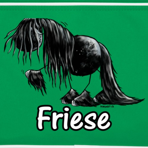 Lustiges Friesenpferd - Friese - Pferd