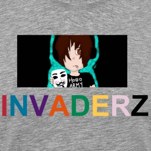 invaderz art - Men's Premium T-Shirt