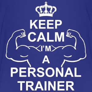 keep_calm_i'm_a_personal_trainer_g1 Shirts - Teenager Premium T-shirt