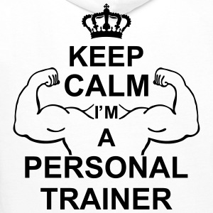 keep_calm_i'm_a_personal_trainer_g1 Sweat-shirts - Sweat-shirt à capuche Premium pour hommes