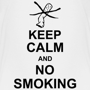 keep_calm_and_no_smoking_g1 Shirts - Teenager Premium T-shirt