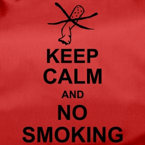 keep_calm_and_no_smoking_g1 Bolsas y mochilas - Bolsa de deporte