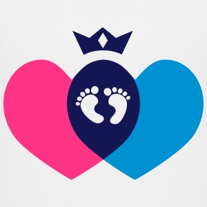 A little Princess, Prince is created out of love Shirts - Teenage Premium T-Shirt