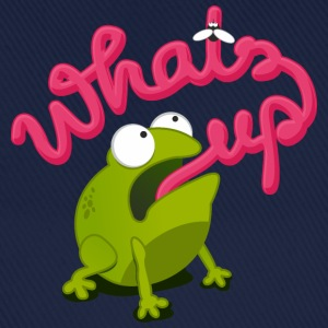 frosch whats up - Baseballkappe