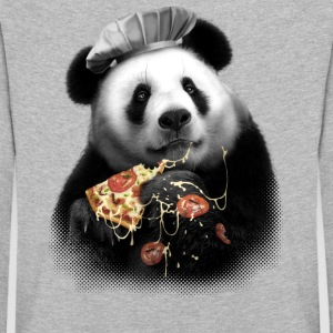 PANDA LOVES PIZZA - Kids' Premium Longsleeve Shirt